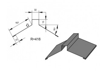 Планка коника К-3