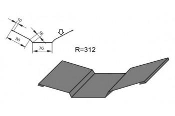 Планка внутреннего стыка ПВС-1