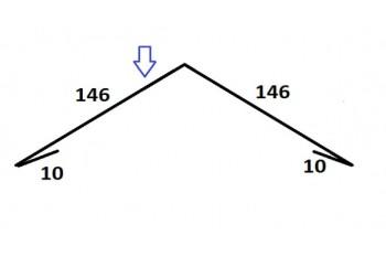 Планка коника К-4