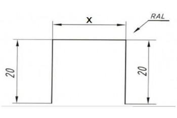 Планка забору П-1