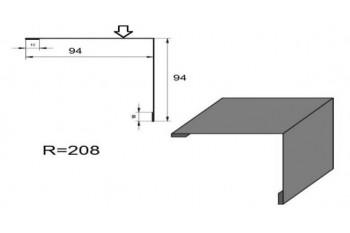 Планка зовнішнього кута ПЗК-1