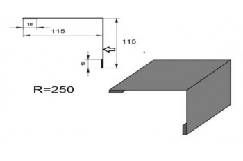 Планка зовнішнього кута ПЗК-2