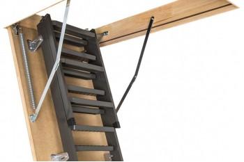 Мансардні сходи металеві